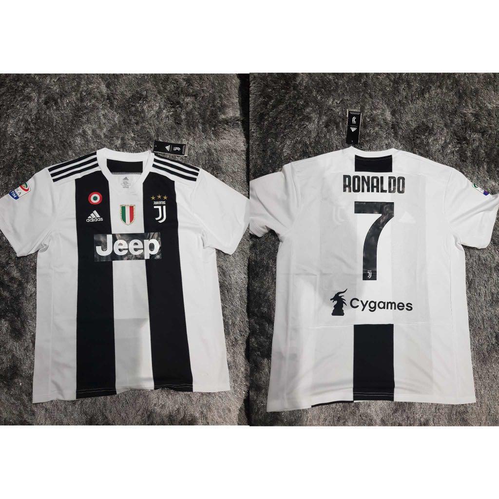 df4db5956 P O Juventus Home Away Jersey 2018 2019