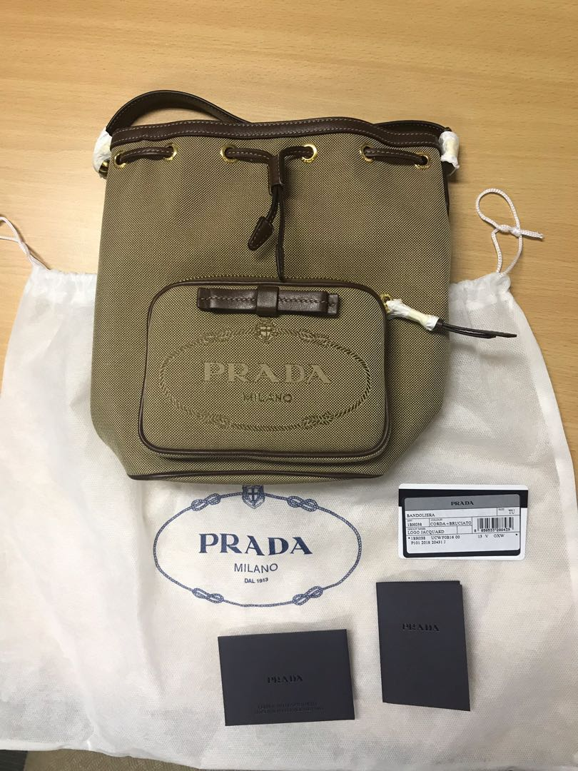 Prada Bucket Bag Luxury Bags Wallets Sling Bags On Carousell