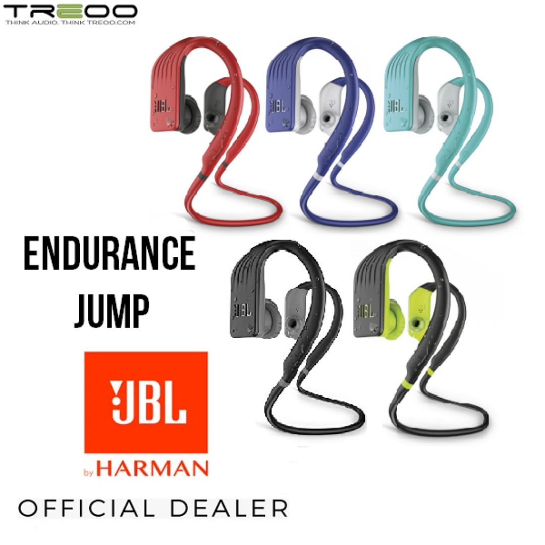 ccbdc42bfc4 PROMO!] JBL Endurance JUMP Waterproof Wireless Bluetooth In-Ear ...