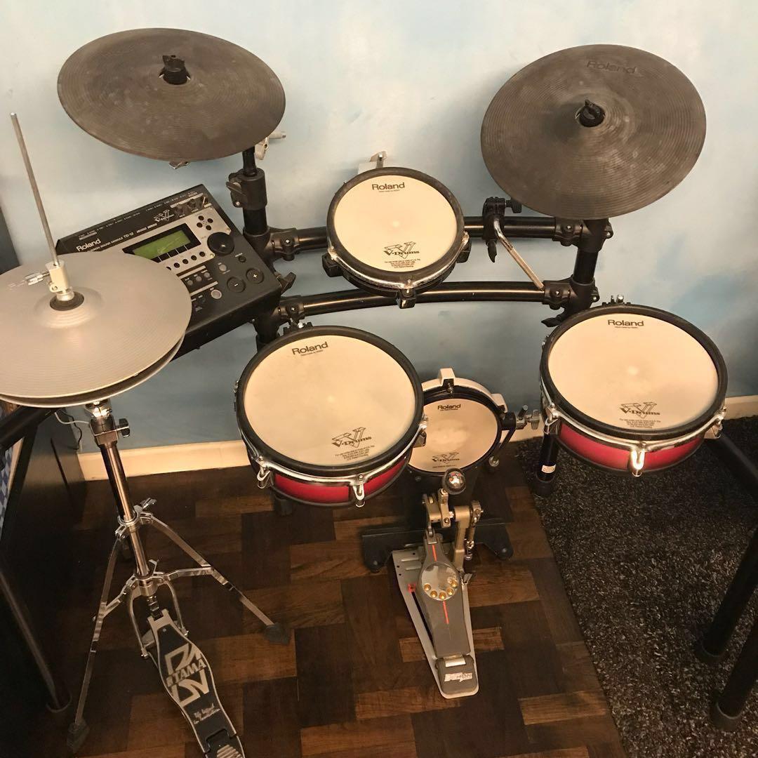 a5e6a041fd33 Roland TD-12 Drum Kit with VH-12 Hi-hats