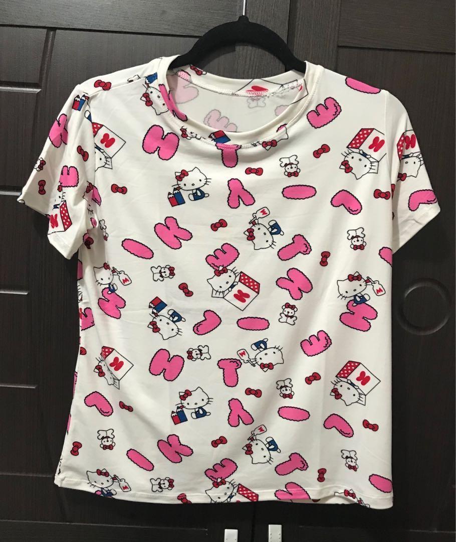 9b5916dde 💥Sale💥Hello Kitty Pajama Terno, Luxury, Apparel on Carousell
