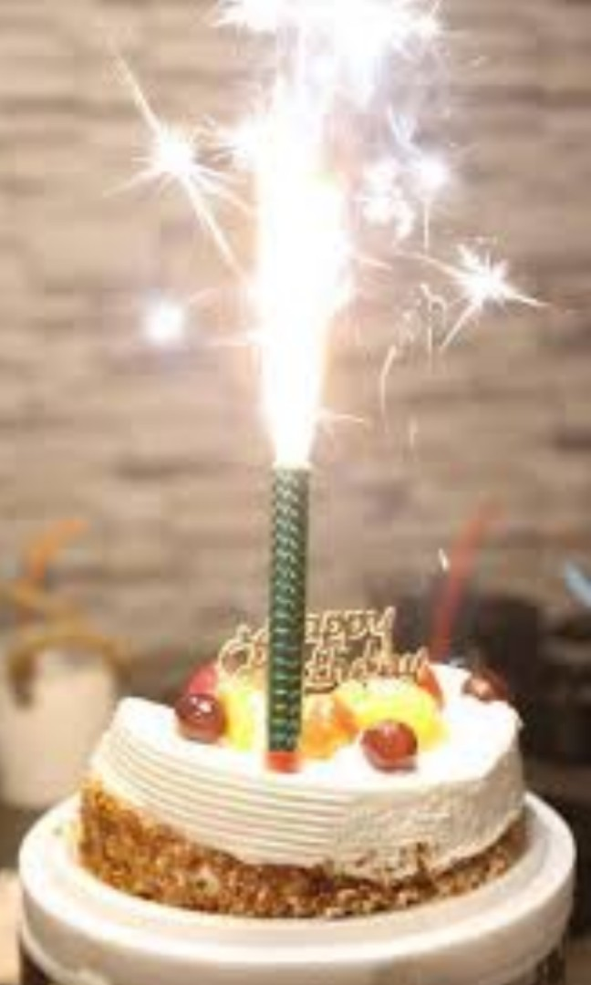 Special Fireworks Sparkles Birthday Candles Everything Else On