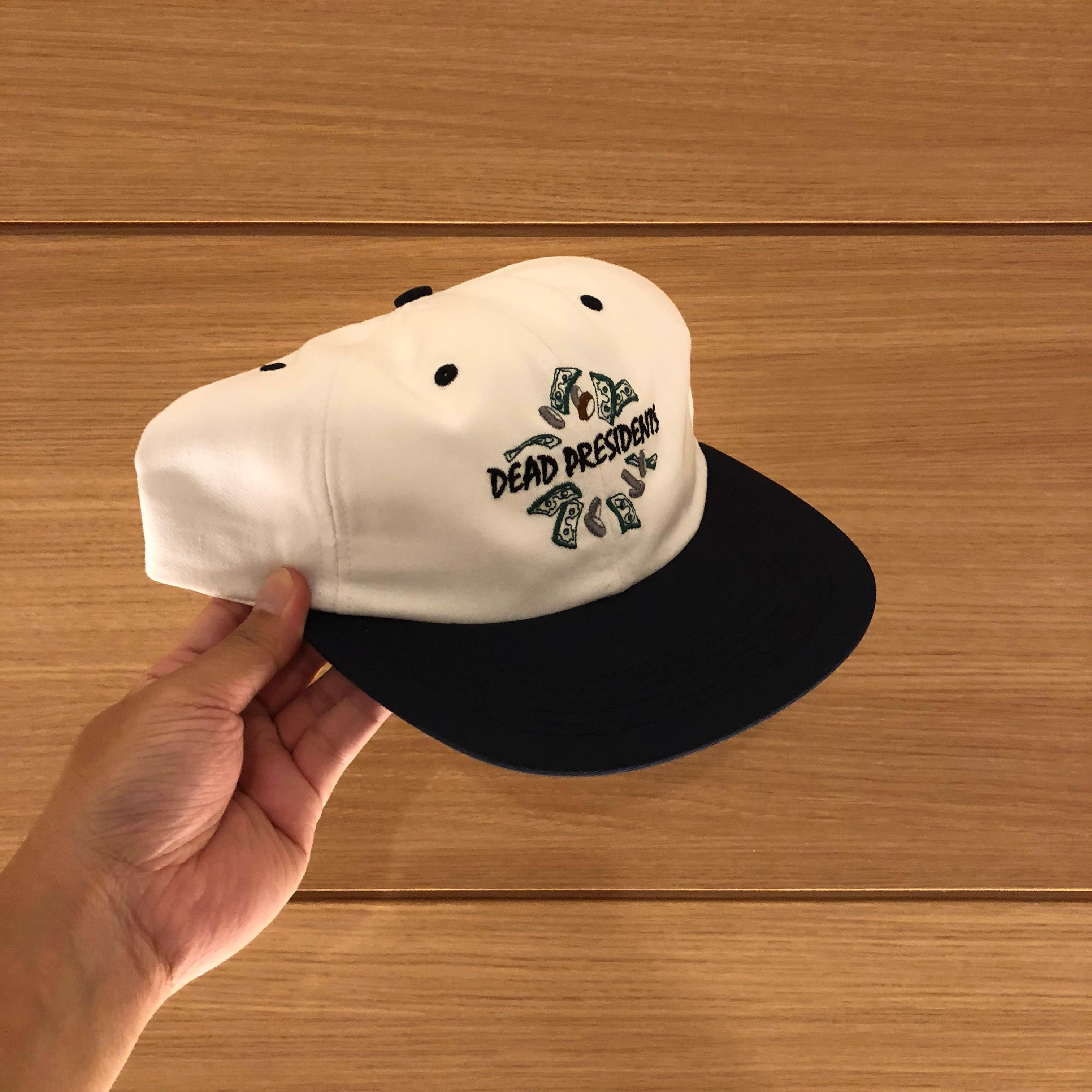 c9866a4e Supreme Dead Presidents 6-Panel Hat Navy FW18, Men's Fashion ...