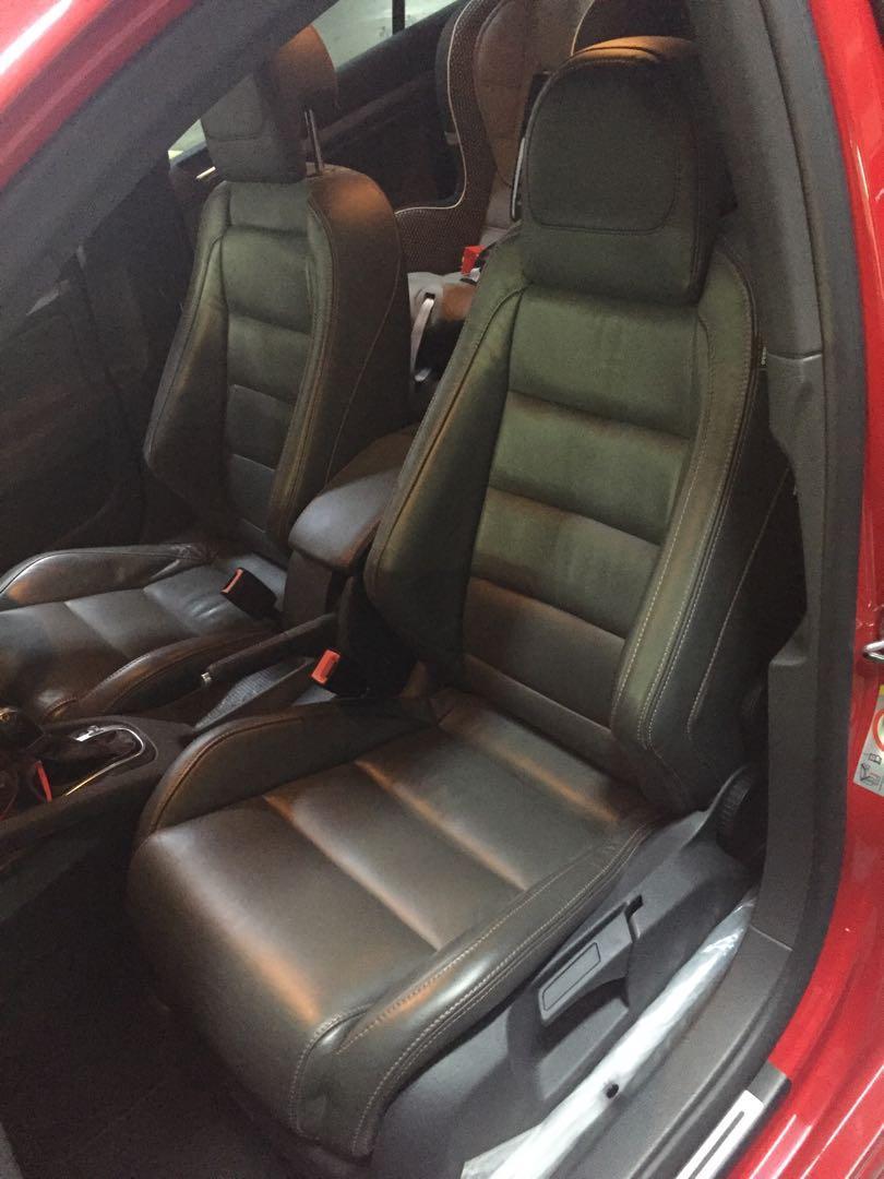 VW Golf Gti mk5 front & passenger Seats