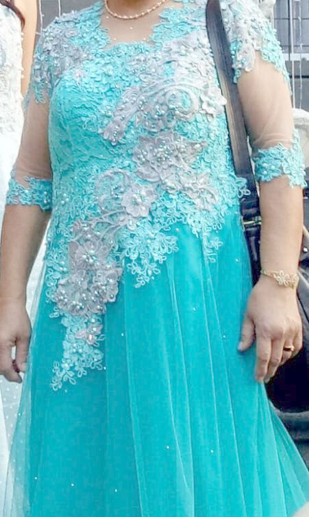 Wedding Dress Gaun Mama Pengantin By Elizabeth Cindy Women S