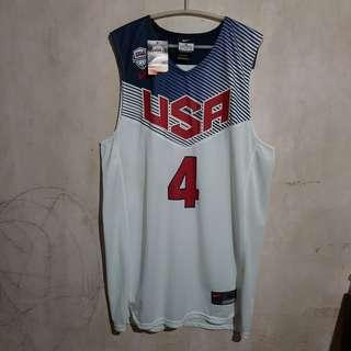 Stephen Curry USA Jersey