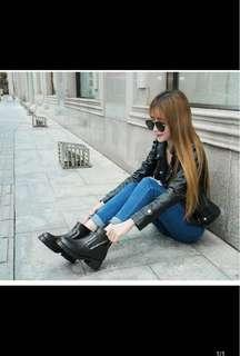 Black boots, no bargaining