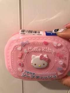 Hello kitty soap case / sponge case🇯🇵