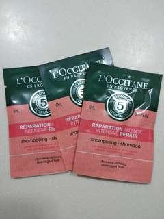 Loccitane l'occitane shampoo damaged hair 洗頭水$4each