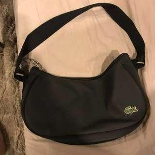 Authentic Lacoste Black Nylon Bag Pricedrop