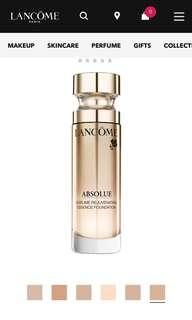 Lancôme foundation absolute 170
