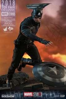 Hot Toys Captain America Marvel First Ten Years 1/6