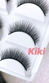 5 pairs silk lashes