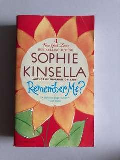 Novel Sophie Kinsella Remember Me