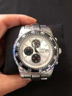 Casio edifice men's chronograph watch