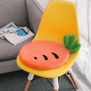 水果透氣記憶棉坐墊 座墊 椅墊 凳子加厚墊子
