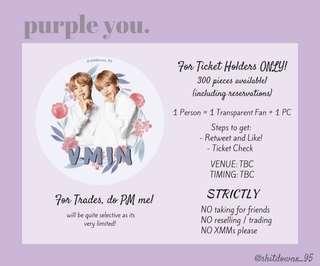 purple you; bts fansupport 💫🌙