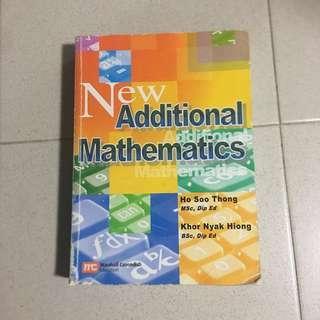IGCSE Additional Mathematics Textbook