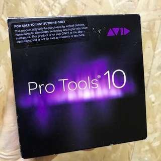 Avid Pro Tools 10 software New! 100% unused 100% authentic