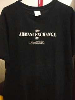 kaos armany exchange original