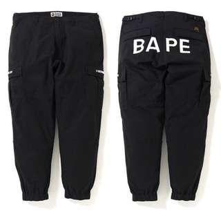 BAPE SLIM 6POCKET JOGGER PANTS