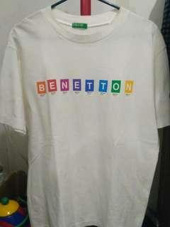 kaos Benetton original