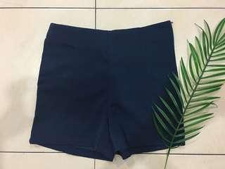 Dark Blue High Waist Pant