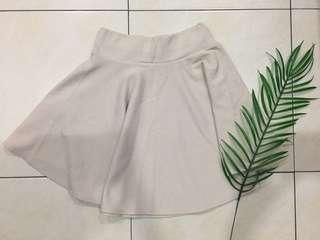 Cream color skirt