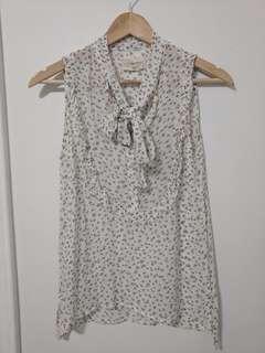 Denim & Supply Ralph Lauren floral sleeveless blouse