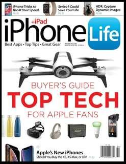 iPhone Life - Winter 2018 | English | 84 pages | True PDF | 8.5 MB