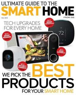 Ultimate Guide to the Smart Home - Sep - Dec 2018 | English | 132 pages | True PDF | 5.3 MB