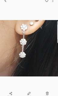 Anting sterling silver 925