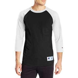 👕Champion baseball t-shirt 長袖T恤