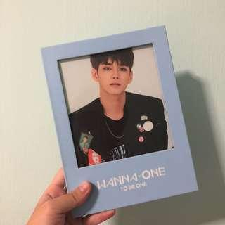 Wanna One To Be One with Seongwoo Postcard and Sleeve