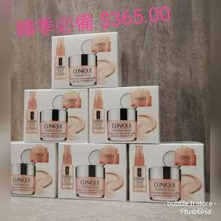 Clinique Moisture Surge Box Set  水磁場保濕三件套裝  [cream 125ml + spray 30ml + eye cream 15ml ]火速售完  再補貨
