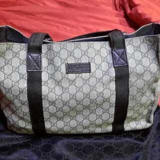 Gucci GG Monogram Coated Canvas Large Tote Bag