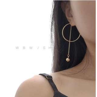 Hoop and Chain Earrings