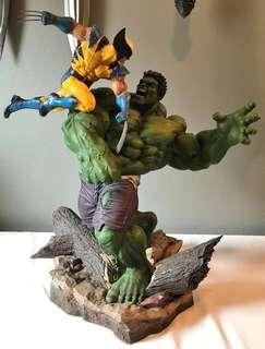 SDCC Hulk vs Wolverine