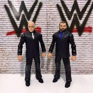 WWE Mattel Basic- Joey Mercury & Jamie Noble