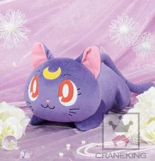 KOAOISORA 11月預訂 美少女戰士 Sailor Moon - 25週年 セーラームーン Bishojo Senshi Sailor Moon Messer Tokka Plush Doll - Luna - 40cm 露娜 Lying Down ver. 景品公仔 (全新)