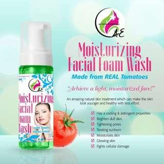 Moisturizing Facial Foam Wash with Tomato & Alpha Arbutin 100ml
