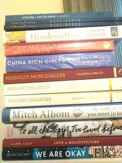 NEW BOOKS Poems Love Story MIX Lang Leav Mitch Albom Poetry etc