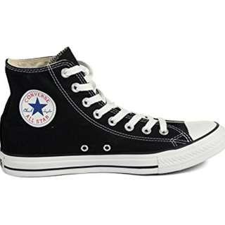 Converse size 8.5 womens, size 7 men's