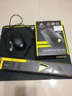 corsair harpoon + corsair mm200