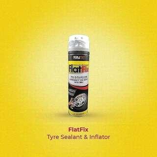 FLATFIX TYRE SEALANT & INFLATOR