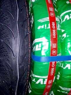 New Tyre CRV Rim 17 70/90 & 80/90 Tayar Tubeless Tire Motor Part