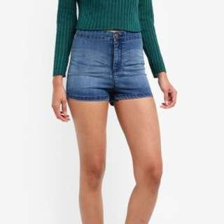 Miss Selfridge Blue Steffi Shorts