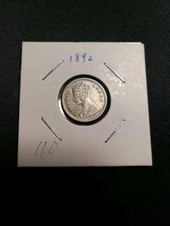 香港维多利亞女皇銀幣