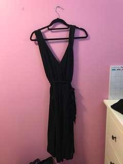 Aritzia Maximillian Jumpsuit Black XS