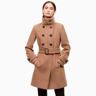 Aritzia Bromley Wool Coat